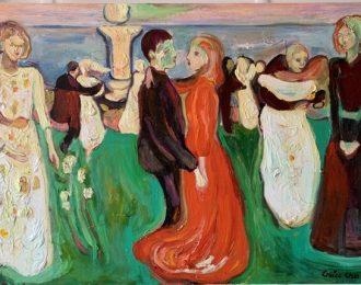 The danse (after Edvard Munch)