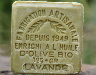 Organic Lavender Soap-125g