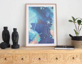 Great Barrier Reef Love Print