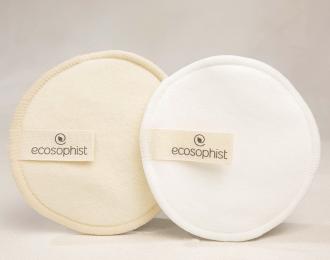 Reusable Cotton Pads – Bamboo & Hemp – 6 Pcs