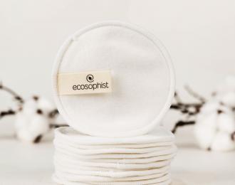 Reusable Cotton Pads Organic Bamboo – 6 Pcs
